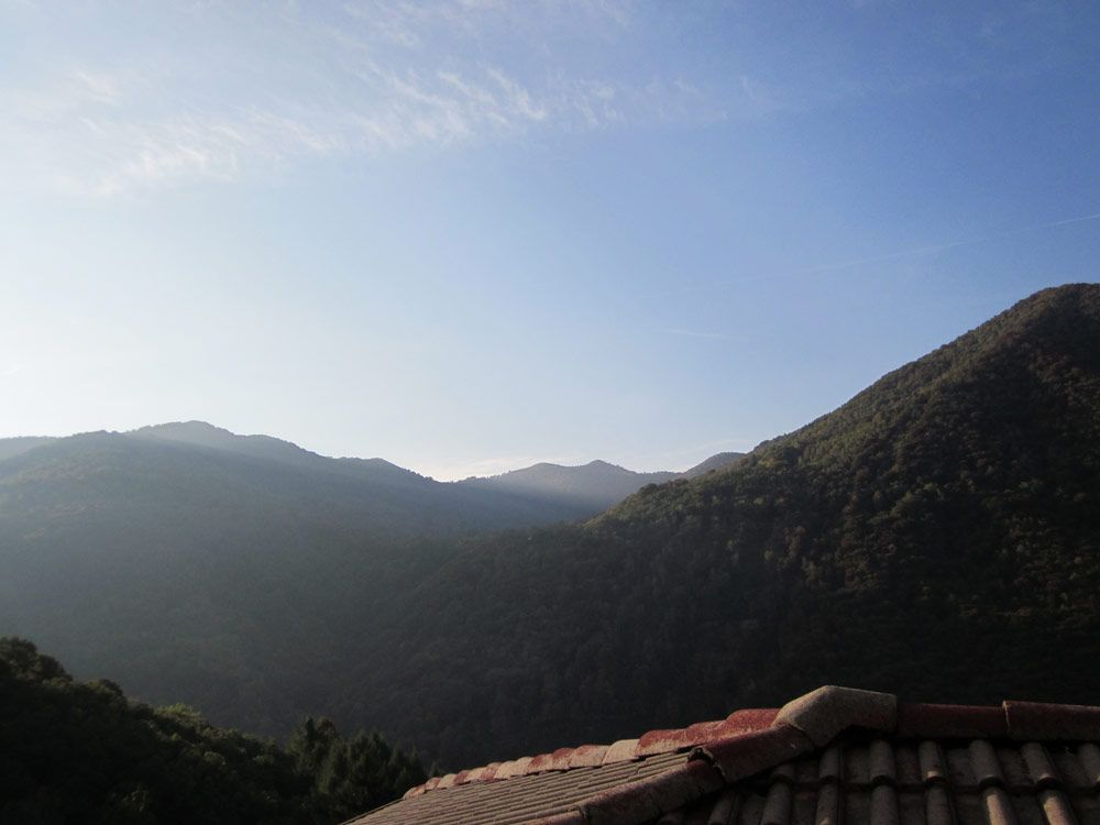 Ristorante sole panorama montagne